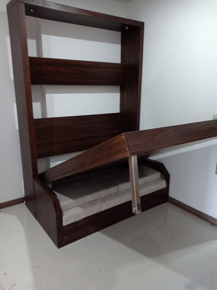 Mua giường gấp thông minh kết hợp ghế sofa tại Long Thành Đồng Nai